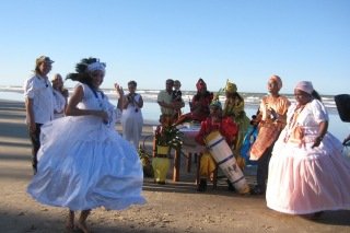 TV beach wedding in Bahia Brazil