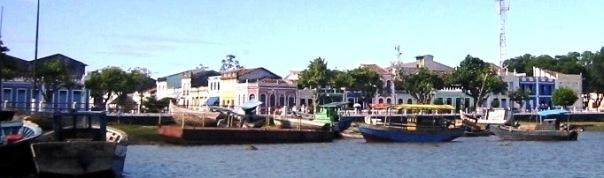 Canavieiras, romantic colonial cacao port,Bahia,Brazil