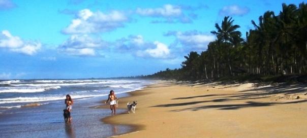 Canavieiras Beach, Bahia,Brazil