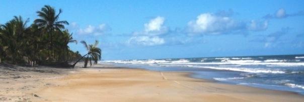 Strand Canavieiras / Bahia, Brasilien