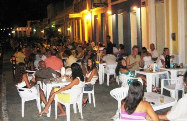 Ueberwintern Bahia-Tropical, Brasilien, Hafen-Nacht,Canavieiras