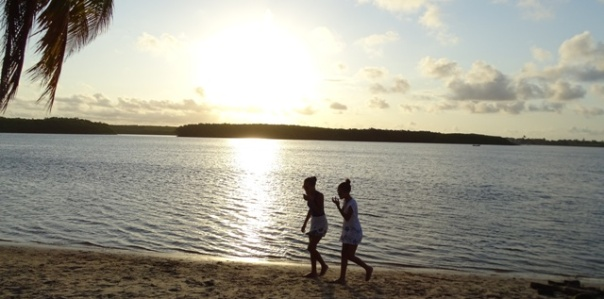 sunset in Bahia