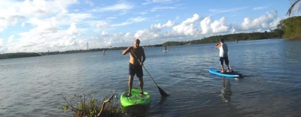 Standup Paddle,Brasilien