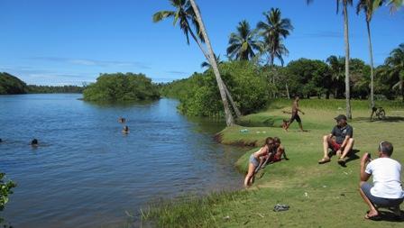 Baden,Fluss,Bahia,Brasilien