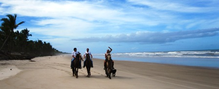 Reiten,Strand,Canavieras,Bahia,Brasil