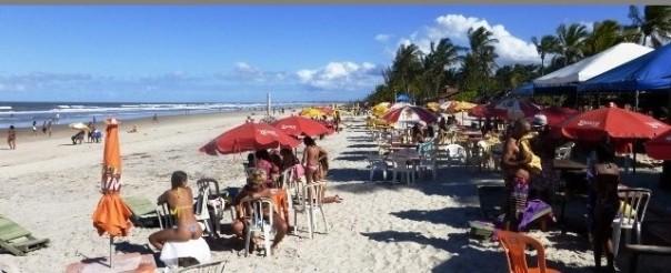 Atalaia Beach in Canavieiras,Bahia,Brasil