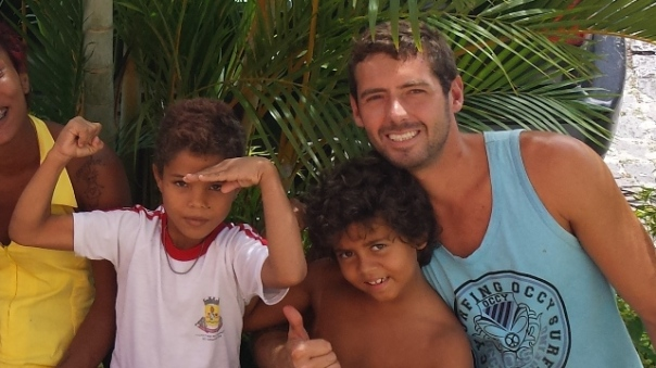 surfen in Canavieiras,Bahia,Brasil