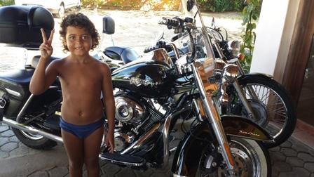 Harley Biker in Canavieiras