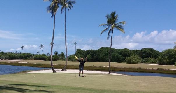 Golfen in Bahia,Brasilien