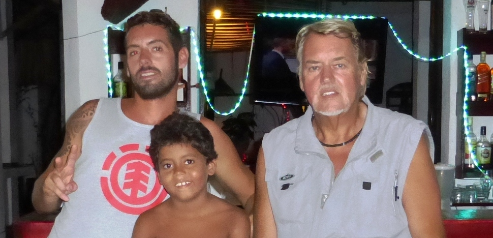 Pat,JohnKevin,Pitt,Bahia,Brasil